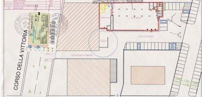 Affittasi locale commerciale mq.720 - 商業空間出租720平方米